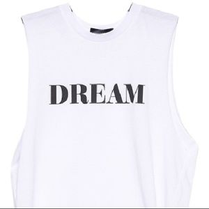 New With Tags Stylestalker Dream Crop Muscle Tank